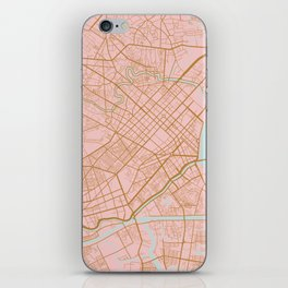 Ho Chi Minh map, Vietnam iPhone Skin