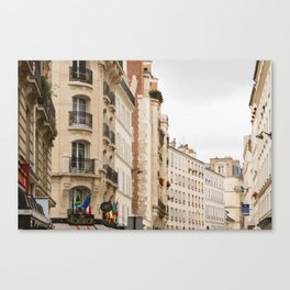 7th arrondissement Canvas Print