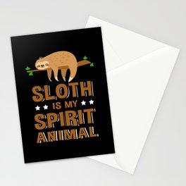 Sloth Is My Spirit Animal Sloths Stationery Cards
