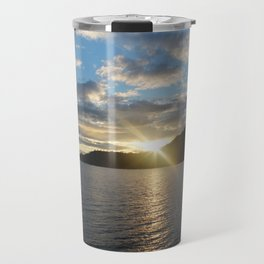 Peeking Sun Travel Mug