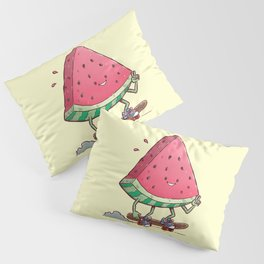 Watermelon Slice Skater Pillow Sham