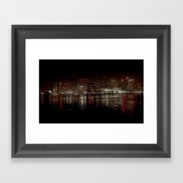 nola ferry view 2 Framed Art Print