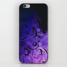 Purple Wave iPhone & iPod Skin