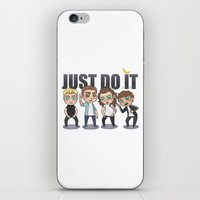 cyrilliart iPhone & iPod Skins featuring Just 1Do It by Cyrilliart