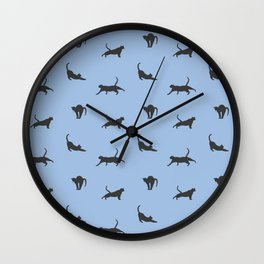 Kitty Stretch Wall Clock