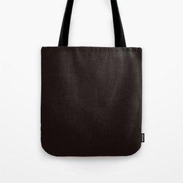 Licorice - solid color Tote Bag