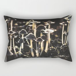 Wild Mushroom's Forest Rectangular Pillow