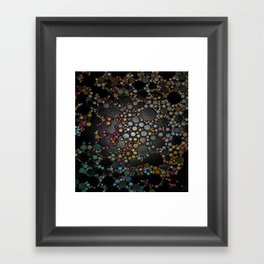:: Super-massive Black Hole :: Framed Art Print