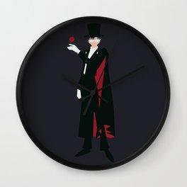 Tuxedo Mask (Blue) Wall Clock