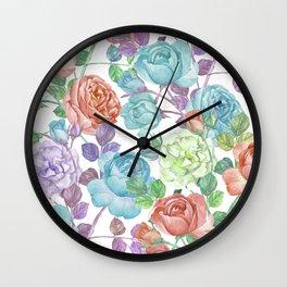 Breathless Rose Wall Clock