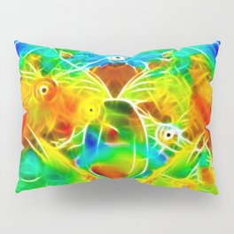 ▲►•holy grail of colors•◄▲ Pillow Sham
