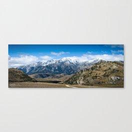 View on Arthur's Pass Canvas Print