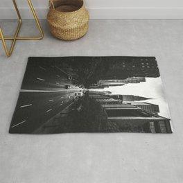 New York City (Black and White) Rug
