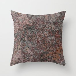 Lichen 03 Throw Pillow