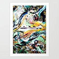 ---- You All The Time // Jeremih (Shlohmo remix) Art Print