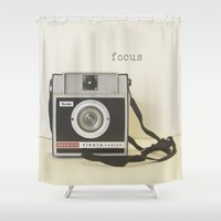focus Shower Curtains featuring Focus by ShadeTree Photography