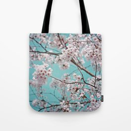 blossoms all over ~ color option teal Tote Bag