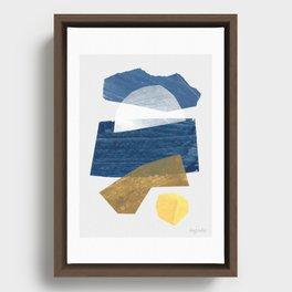 Amagansett I Framed Canvas