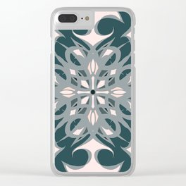 Colors of a Rainy Spring Day - Mosaic - Version 2.0 Clear iPhone Case
