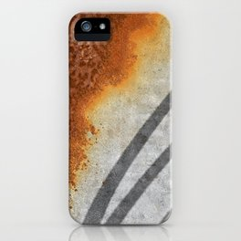 Rust Abstract I iPhone Case