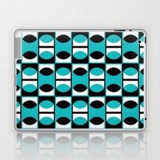 Lens pattern (turquoise) Laptop & iPad Skin