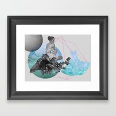 Let's get out of here Framed Art Print
