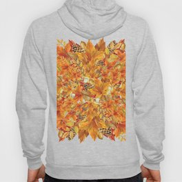 Autumn leaves - Acorn, clubs - Pine cones Hoody