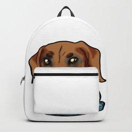Rhodesian Ridgeback Dog Doggie Puppy Gift Present Backpack