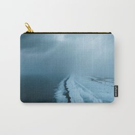 Moody Black Sand Beach in Iceland - Landscape Photography Carry-All Pouch