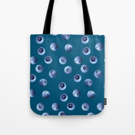 Blueberries Rain Down On Me Tote Bag