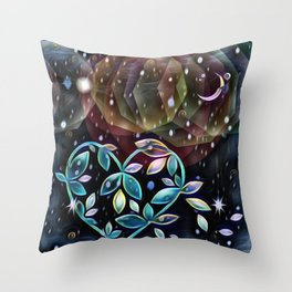 Farewell April Throw Pillow