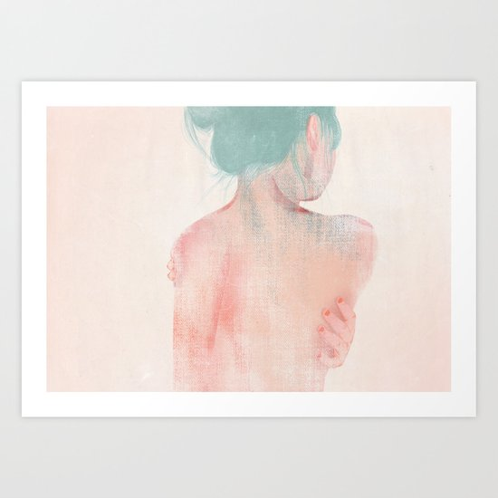 Something About Women IV Art Print