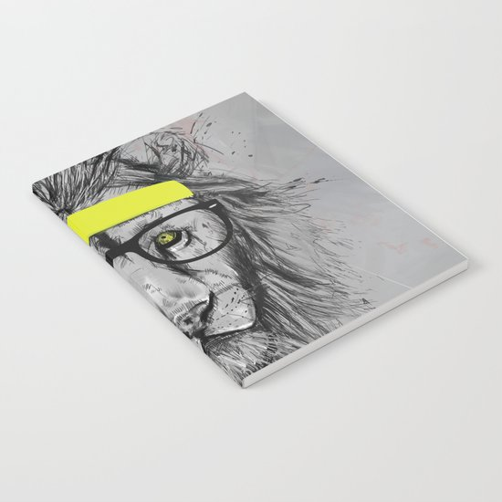hipster lion Notebook