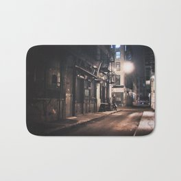 New York City - Small Hours After Midnight Bath Mat