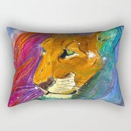 The Night's Soul Rectangular Pillow