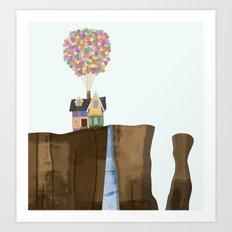 UP (Paradise Falls) Art Print