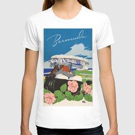Romantic Bermuda travel T-shirt
