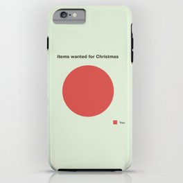 All I want for Christmas iPhone Case