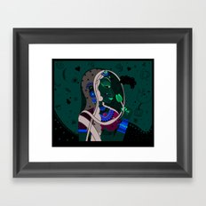 Radha Framed Art Print