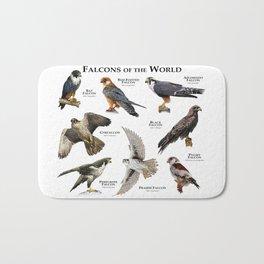 Falcons of the World Bath Mat