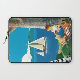 Finland - The land of the thousand lakes Laptop Sleeve