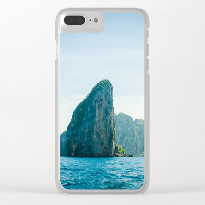 Far Places Clear iPhone Case