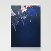 eames Stationery Cards featuring Eames Chairs by Angeline Woo
