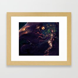 GODDESS of MARRIAGE Framed Art Print
