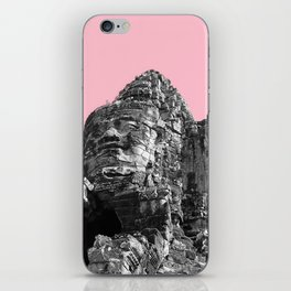 Part of Angkor Wat with pink iPhone Skin