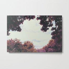 Fall Equinox, Autumn Leaves Metal Print