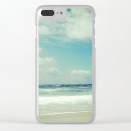 BEACH IN HARMONY I Clear iPhone Case