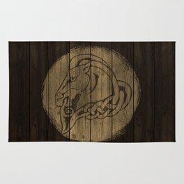 Horse Shield Rug