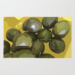 spanish olives Rug