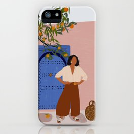 Pink Walls and Morocco iPhone Case